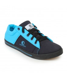 Cefiro Men Casual Shoes Fun07 Black L Blue CCS0032